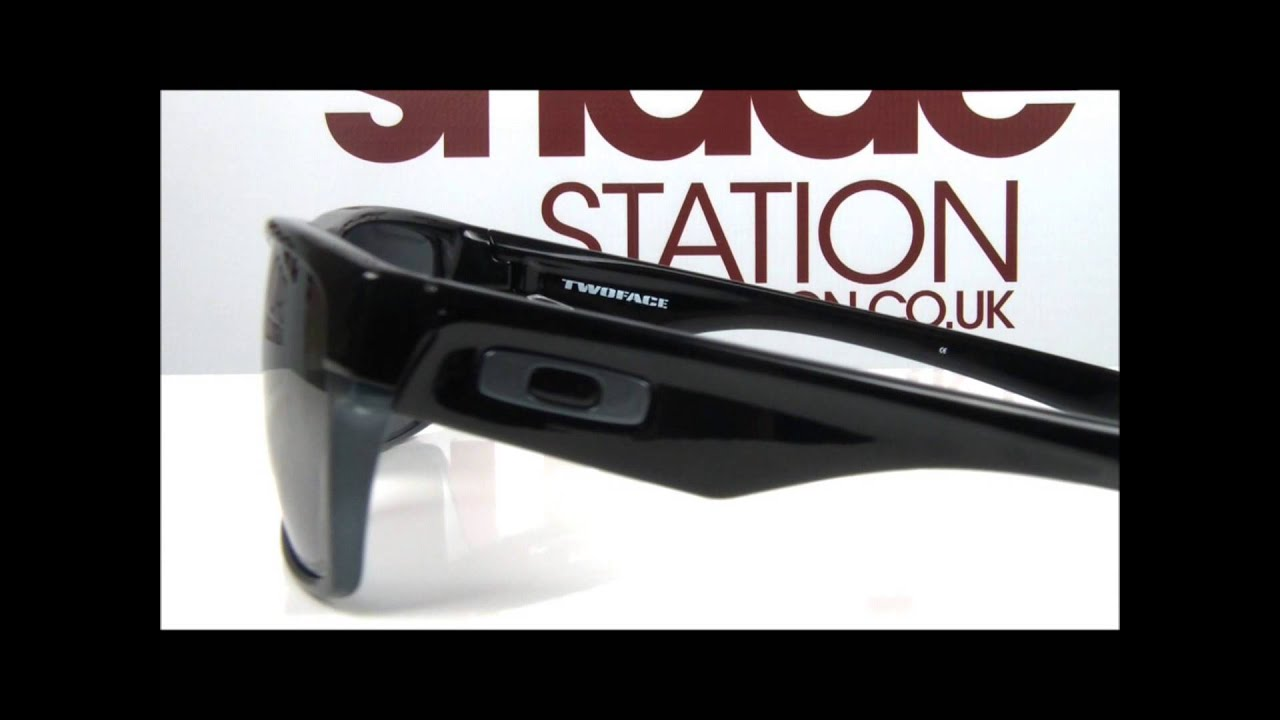 3898e88f77b Oakley Two Face Sunglasses Video Overview