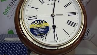Часы настенные RHYTHM CMH723CR06 обзор