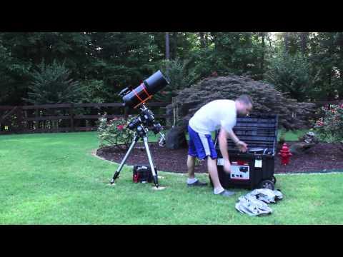 Setting up my Celestron 8 Inch Telescope