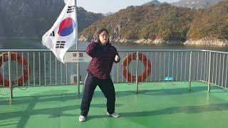 단양8경 유람선 댄스 나세림