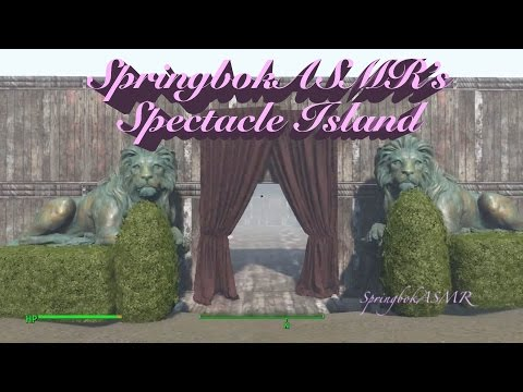 ASMR Guided Tour of Spectacle Island Settlement in Fallout 4 *Binaural*