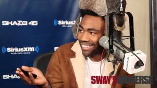 childish gambino pound cake cover on sway in the morning freestyle