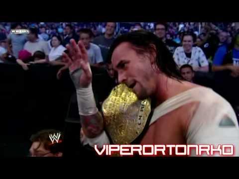 Jeff Hardy & CM Punk - The feud 2009 MV