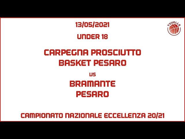 [u18] Carpegna Prosciutto Basket Pesaro - Bramante Pesaro: 88-87