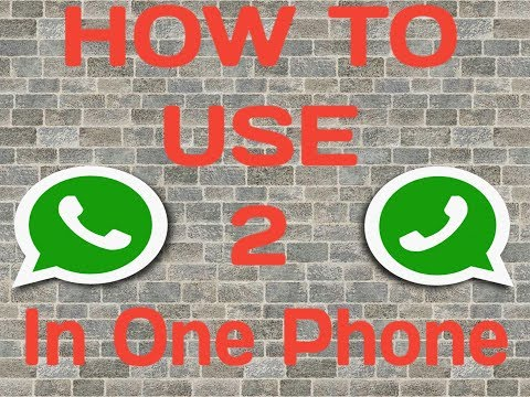 How to Use 2 Whatsapp In One Phone Without Using Parallel Space