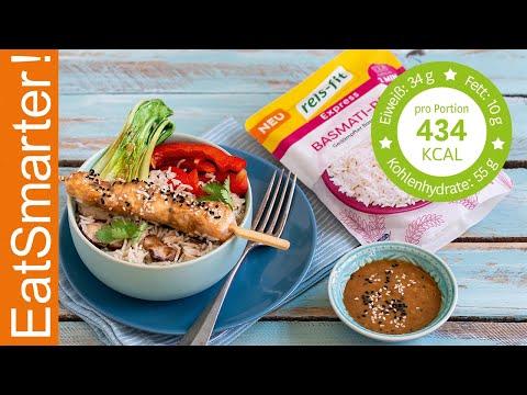 Asia-Bowl mit Basmati-Reis,