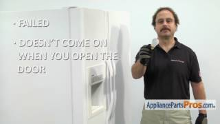 Refrigerator Appliance Light Bulb (part #5303013071) - How To Replace