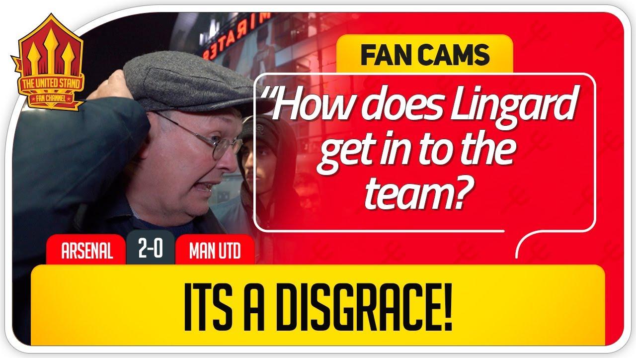 RICKY LINGARD NOT GOOD ENOUGH Arsenal 2 0 Manchester