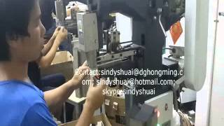 Hm-40 Box Corner Pasting Machine For Jewellery Box(skype:sindyshuai)