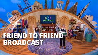 Latter-day Saint Leaders Invite Children to Learn About Jesus Christ in Friend to Friend Broadcast