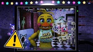 Іграшка Чіка п'ять ночей у Кенді ремастерінг! (Мод)