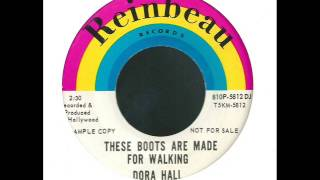 dora hall + these boots are made for walking + reinbeau