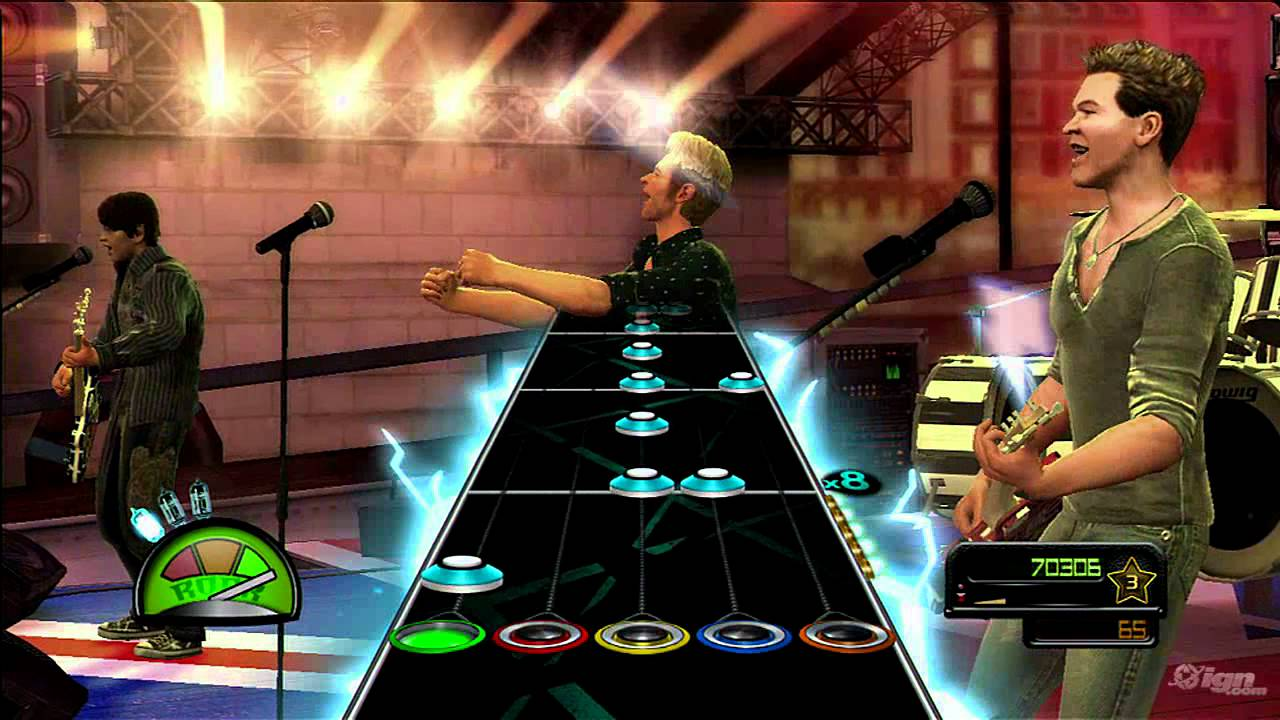 Guitar Hero Van Halen Xbox 360 Gameplay Panama Youtube