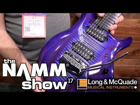 L&M @ NAMM 2017: Music Man Monarchy Majesty Guitars