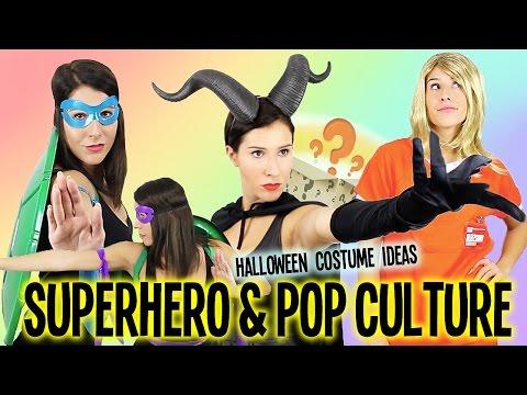 Superhero & Pop Culture Halloween Costume Ideas