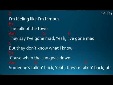 Talking to the moon by Bruno Mars Lyrics and Chords