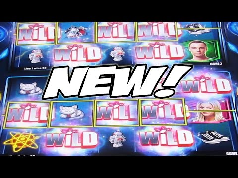 THE NEW BIG BANG THEORY GAME: JACKPOT MULTIVERSE -- New Slot Machine Bonus Wins - 동영상
