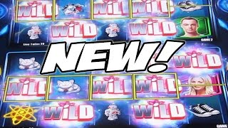 THE NEW BIG BANG THEORY GAME: JACKPOT MULTIVERSE -- New Slot Machine Bonus Wins(I'm VegasLowRoller and this is my THE NEW BIG BANG THEORY GAME: JACKPOT MULTIVERSE -- New Slot Machine Bonus Wins video. Filmed at the ..., 2016-09-09T15:00:02.000Z)