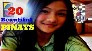 20 Beautiful Pinay Teens
