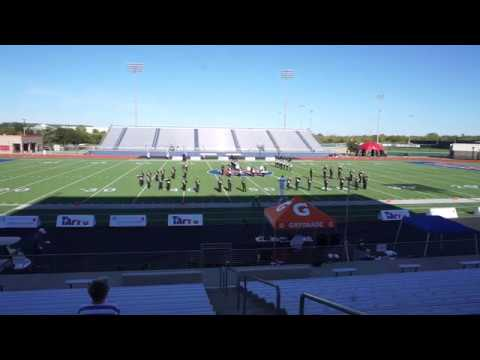 The Pride of Kelly High School - Phantom of the Opera - TAPPS State Marching Band Competition 2017