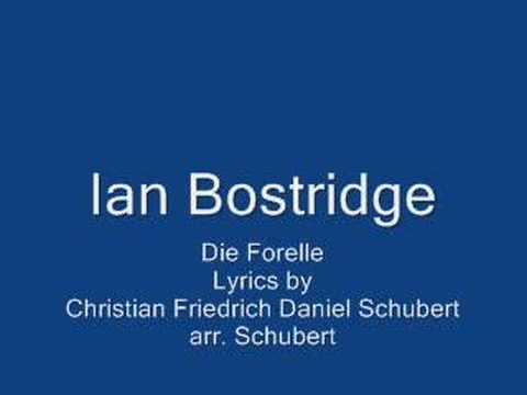 Ian Bostridge- Die Forelle