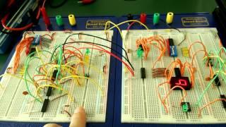 カウントアップ回路 (16進数)