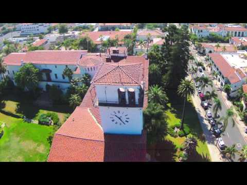 Santa Barbara Courthouse Aerial Imagery
