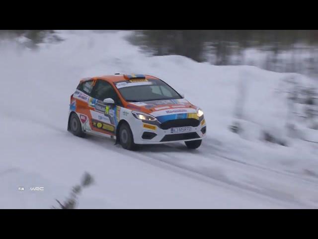 Junior WRC - Rally Sweden 2019: Highlights SUNDAY