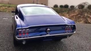 1967 Mustang Fastback Run Video