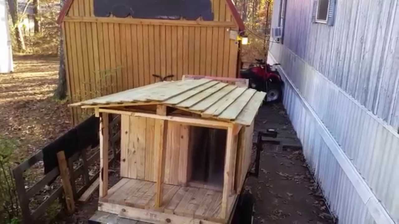 Make Dog House Out Of Pallets