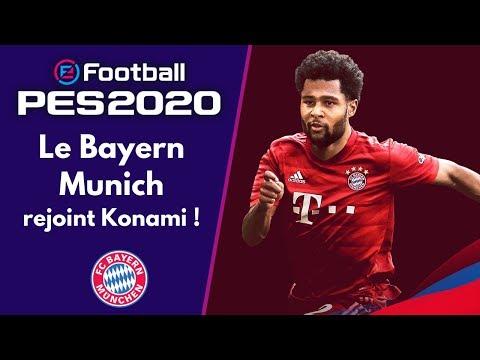 PES 2020 : Le Bayern Munich, nouvelle équipe partenaire !