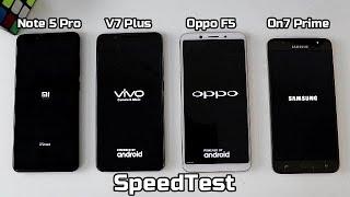 Redmi Note 5 Pro Vs Vivo V7 Plus Vs Oppo F5 Vs Samsung On7 Prime I Hindi