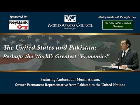 "The United States and Pakistan: Perhaps the World's Greatest ""Frenemies"""