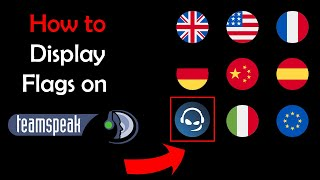 How To Display Country Flags On Clients In TeamSpeak 3 (TS3)