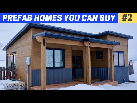7 Great PREFAB HOMES #2 (some affordable)