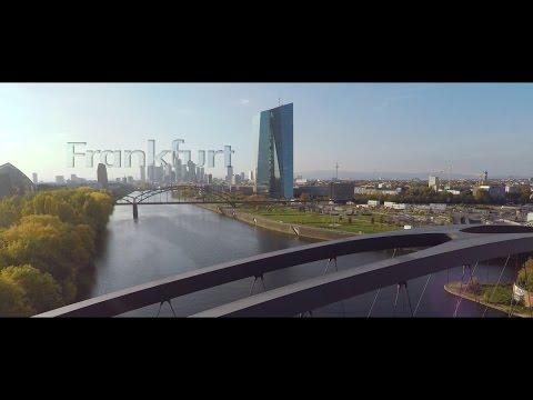 Frankfurt Autumn Sun - DJI Phantom GoPro 4 Aerial Video
