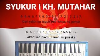 NOT PIANIKA I SYUKUR - H. MUTAHAR