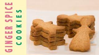 Homemade GINGER SPICE COOKIES / スパイスが優しく香るジンジャークッキーの作り方