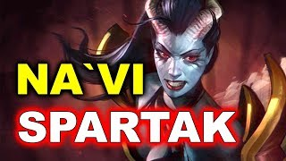 NAVI vs SPARTAK - CIS Quals DOMINATION - SL I-League 3 DOTA 2