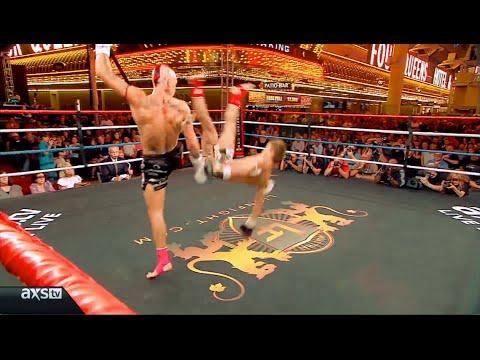 """Kevin Ross """"Gravity"""" Muay Thai Dumps & Sweeps Highlight"""