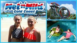 theme park fun wet n wild gold coast vacation vlog day 4
