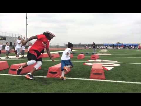 Inland Empire Youth Football Camp Part 3 by Oh Boy Sports
