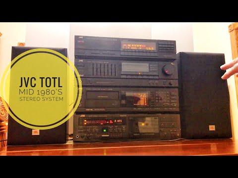 TOTL mid 1980's JVC components review