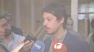Declaraciones de Segundo González tras registrar las enmiendas parciales a los PGE