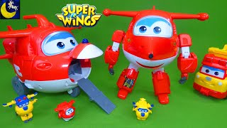 Super Wings Toys Talking Robot Ready Jett Takeoff Tower Airport Playset Review Build It Donnie Toys
