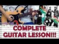 Thunder - Boys Like Girls(Complete Guitar Lesson/Cover)with Chords and Tab