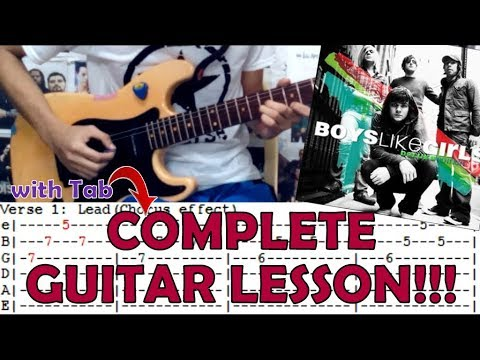 Thunder Boys Like Girlscomplete Guitar Lessoncoverwith Chords