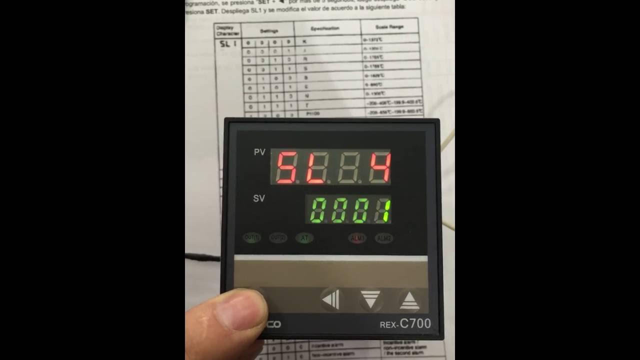 Wiring A Temperature Controller Control De Temperatura Camsco 1200 Grados Rex C700 Youtube