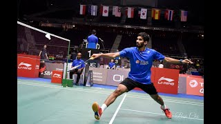 BEST Rallies of SRIKANTH Kidambi   A Player like Never Before!!!