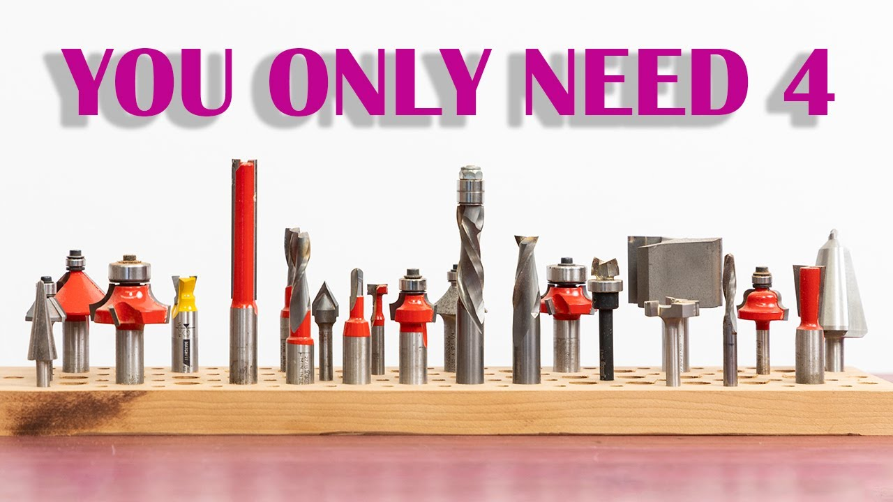 Download Router Bits for Beginners - 4 Bits You Should Buy